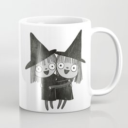 The Twin Witches Hug Coffee Mug