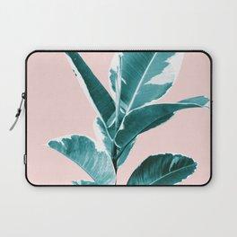 Ficus Elastica Finesse #2 #tropical #foliage #decor #art #society6 Laptop Sleeve