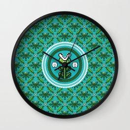 8bit Deco Wall Clock