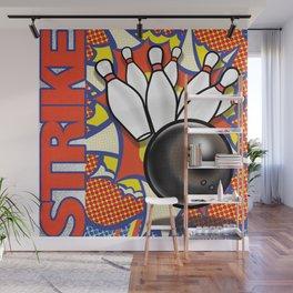 Strike Wall Mural