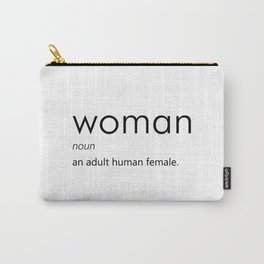 Woman (Definition) Carry-All Pouch