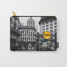 Buenos Aires Carry-All Pouch