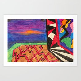 Compartmentalization & Candor Art Print