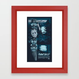FRIDAY THE 13TH (01) Framed Art Print
