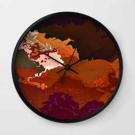 Iron Horse: Rusted Wall Clock