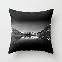 Mountain View at Norvegian Throw Pillow