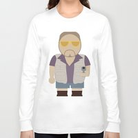 the big lebowski Long Sleeve T-shirts featuring Walt - Big Lebowski by Moose Art