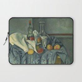 Paul Cézanne - The Peppermint Bottle Laptop Sleeve