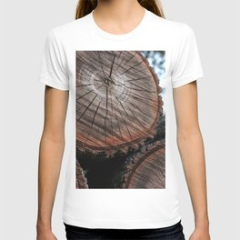 Log Pile T-shirt