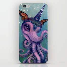 The Magical Butter Octophant iPhone Skin