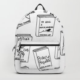 Bibliophilia (Titles) Backpack