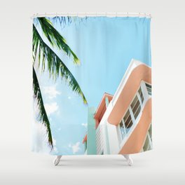 Miami Fresh Summer Day Shower Curtain