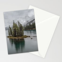 Landscape Maligne Lake Photography | Alberta | Canada Stationery Cards