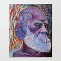 darwin Canvas Prints featuring Darwin by ArmsReach