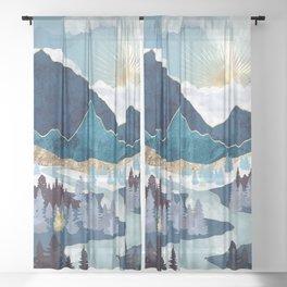 Valley Sunrise Sheer Curtain