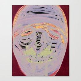 Face Illustration Canvas Print