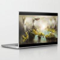 giants Laptop & iPad Skins featuring Ancient Giants by NikoCherednik