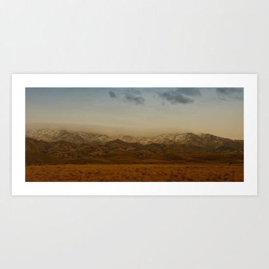 Owl Creek Mountains Art Print