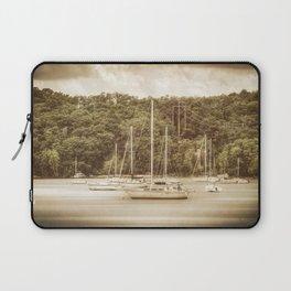 Smooth Sailing - Nostalgic Laptop Sleeve