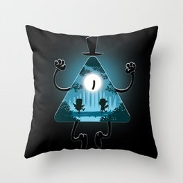 Bill is watching you Throw Pillow