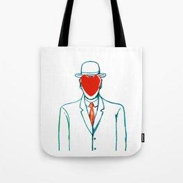 Surreal heart Tote Bag