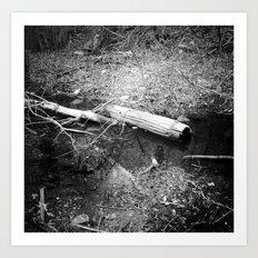 Urban Swamp #1 Art Print