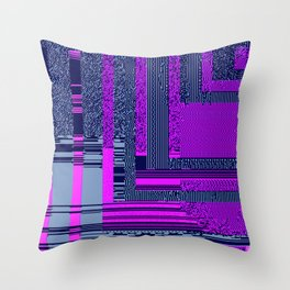 taintedcanvas159 Throw Pillow