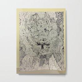 Interdimensional Metal Print