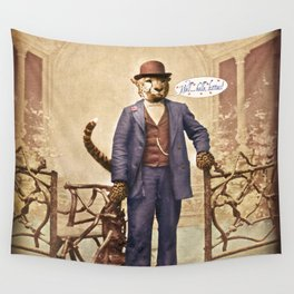"One Cool Cat: ""Well . . . Hello, kitties!"" Wall Tapestry"