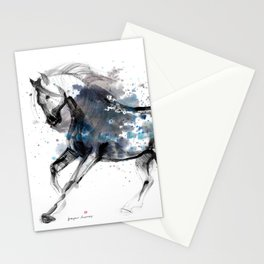 Horse (Storm) Stationery Cards