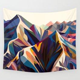 Mountains original Wandbehang