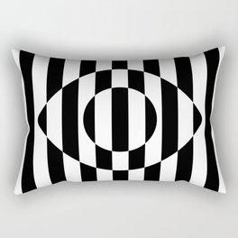 Big Brother Eye || B&W Rectangular Pillow