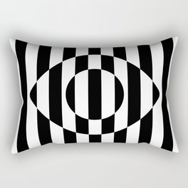 Big Brother Eye || B&W Rectangular Pillow