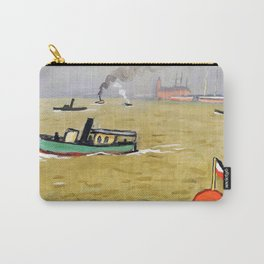 12,000pixel-500dpi - Albert Marquet - Vedette in Hamburg - Digital Remastered Edition Carry-All Pouch