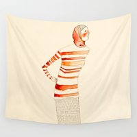 mom Wall Tapestries featuring Mom by Danelys Sidron