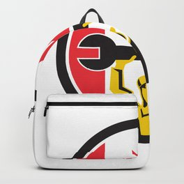 Canadian Mechanic Canada Flag Icon Backpack