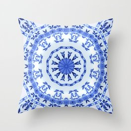 That Delft Effect Throw Pillow