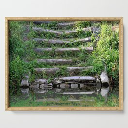 River stairs Serving Tray