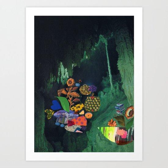 Cave Garden V Art Print