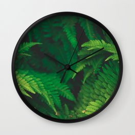 Garden Greens Wall Clock