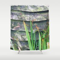 plants Shower Curtains featuring Plants by Martha Bräuer