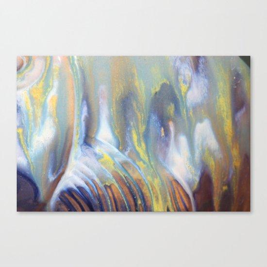 Colors mix Canvas Print