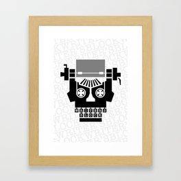 Writer's Block II Framed Art Print