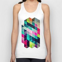 spires Tank Tops featuring Cyrvynne xyx by Spires