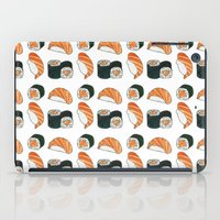 sushi iPad Cases featuring Sushi by Raccoon Illustrations