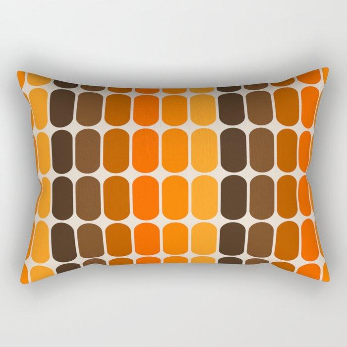 Golden Capsule Rectangular Pillow