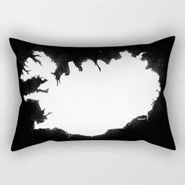Iceland W&B Rectangular Pillow