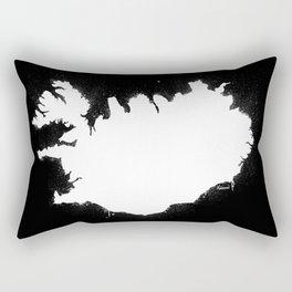 Iceland W&B Rectangular Pillow