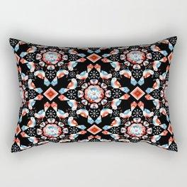 Lovebird Lattice Rectangular Pillow