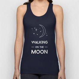 Walking on the Moon Unisex Tank Top